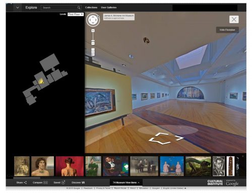 Michener Art Museum Launches Google Art Project Street View & Gigapixel Imagery
