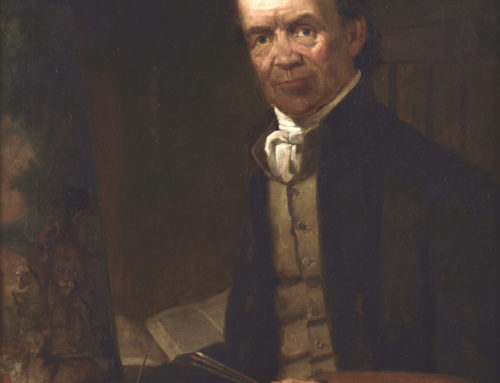 Portrait of Edward Hicks by Thomas Hicks